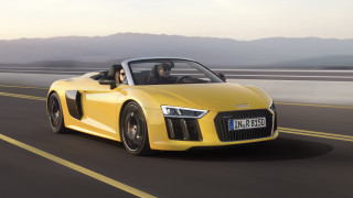 Neuer Audi R8 Spyder V10: Premiere auf der New York International Auto Show