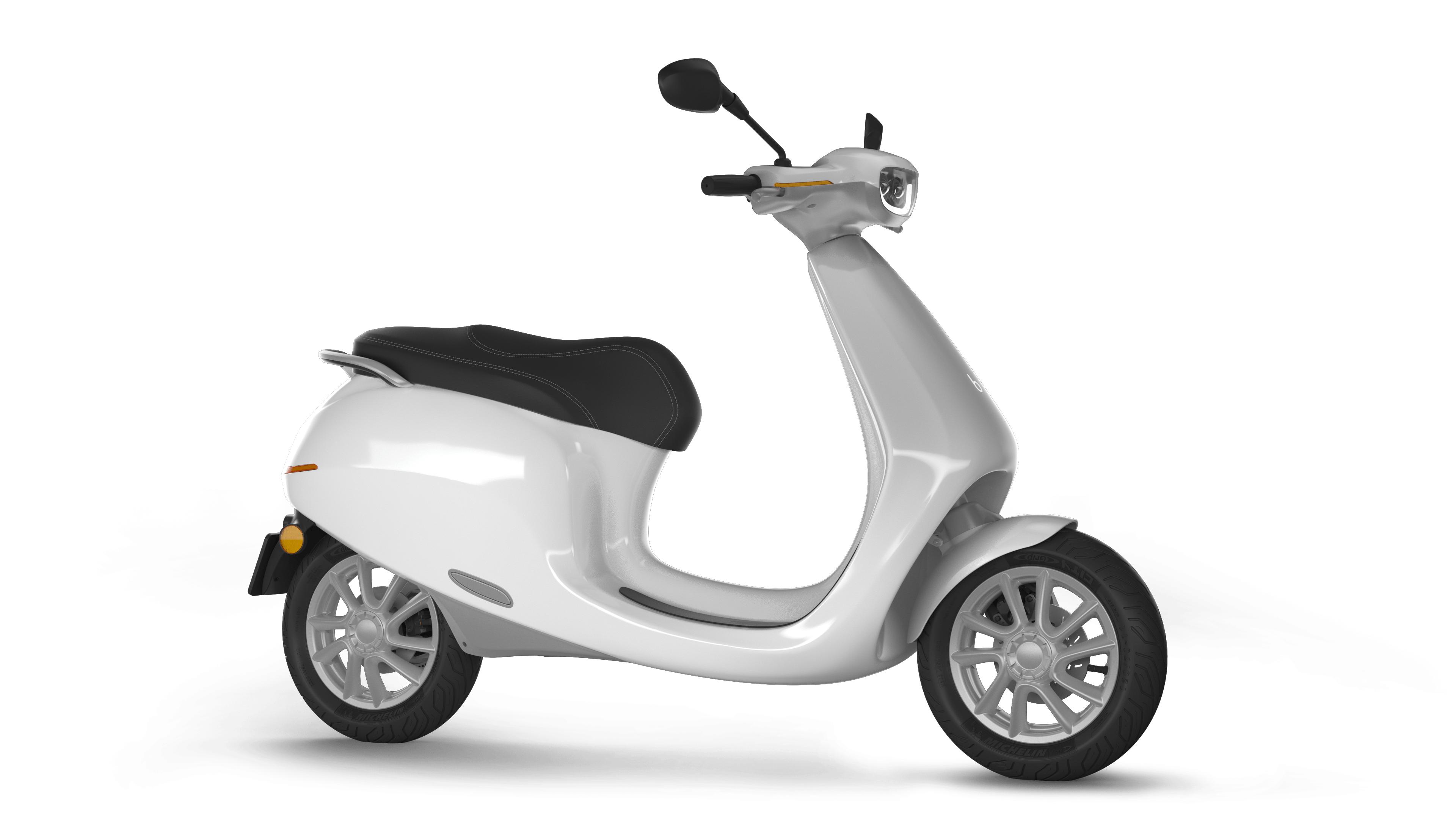 Die niederlande geht auf elektrik der roller mit 400 km Der roller