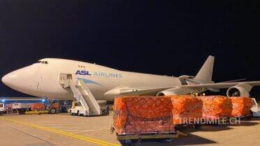 Donation of Alibaba to Germany